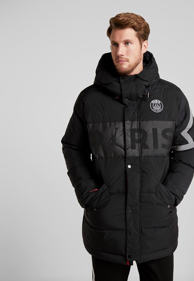 Nike Performance - PARIS GERMAIN JORDAN PARKA - Down coat - black