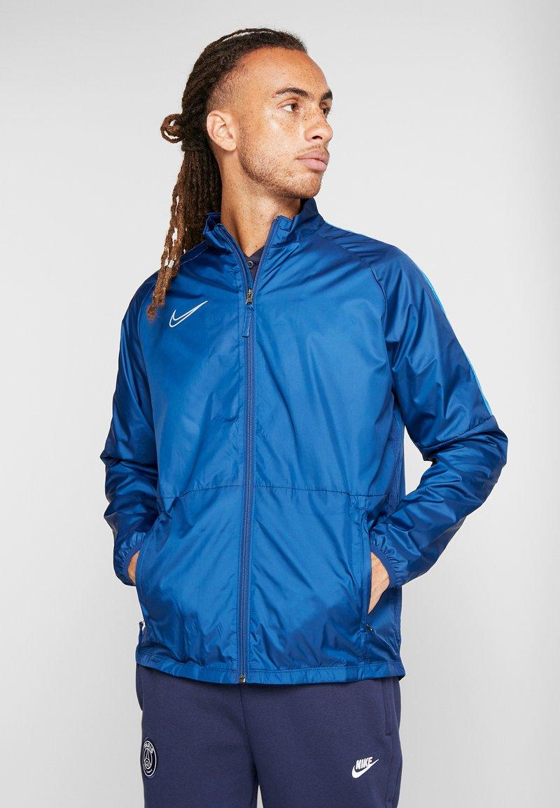 Nike Performance - Sportovní bunda - coastal blue/light photo blue/silver