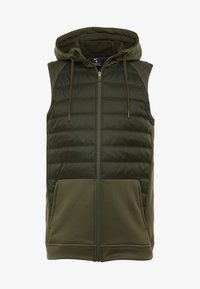 Nike Performance - THERMA VEST WINTERIZED - Waistcoat - khaki/sequoia/black - 4