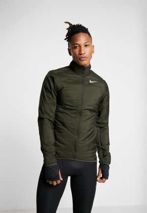 AROLYR - Training jacket - sequoia/grey fog/silver