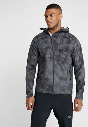 SHIELD FLASH - Veste de running - dark grey/reflect black