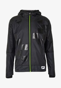 Nike Performance - WILD RUN SHIELD - Sports jacket - black/off noir/reflective silver - 8