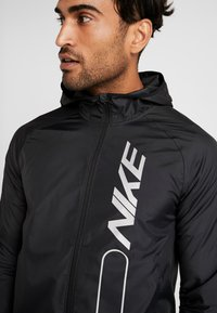 Nike Performance - FLASH AIR - Veste de running - black/reflective silver - 3