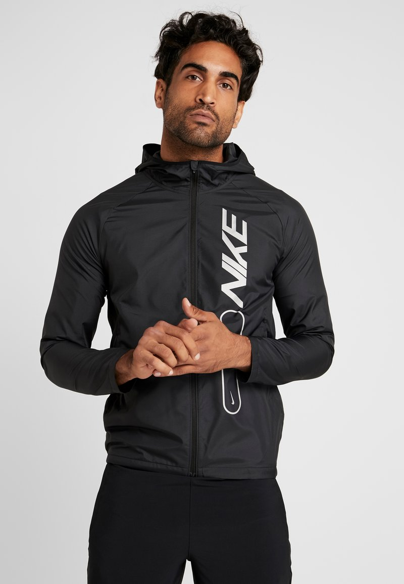 Nike Performance - FLASH AIR - Veste de running - black/reflective silver