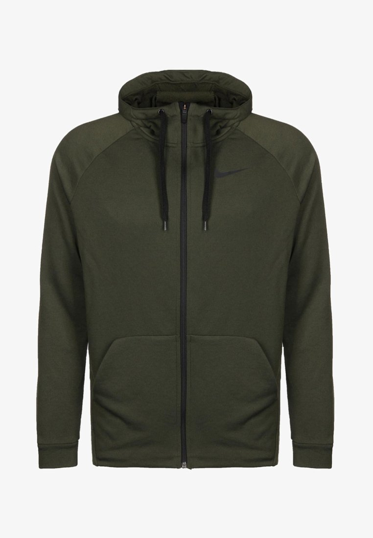 Nike Performance - Sweatjacke - cargo khaki/black