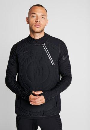 NIKE FC PAD VEST - Waistcoat - black/white/black