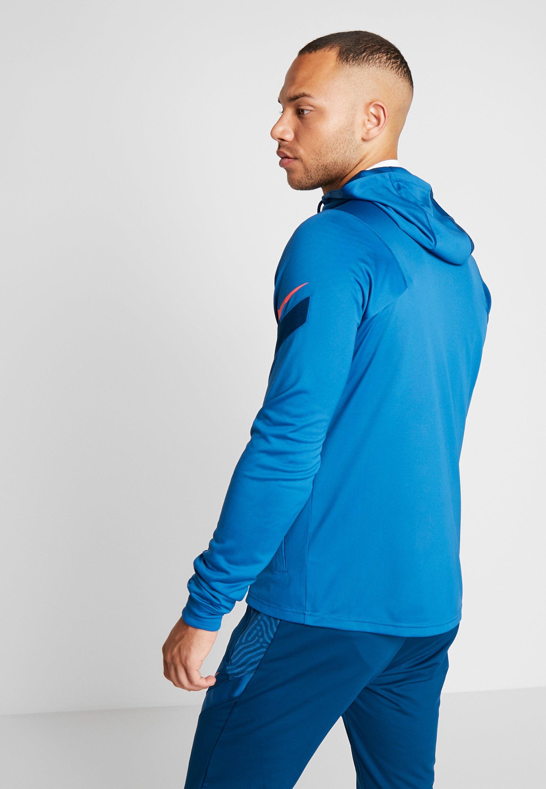 Nike Performance DRY - Kurtka sportowa - industrial blue/laser crimson
