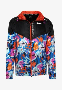Nike Performance - WINDRUNNER - Sports jacket - black/team orange - 5
