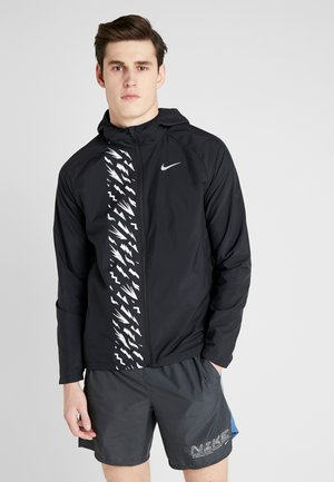 Sports jacket - black/reflective silver