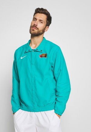 NBA MEMPHIS GRIZZLIES CITY EDITION JACKET - Article de supporter - turbo green/white