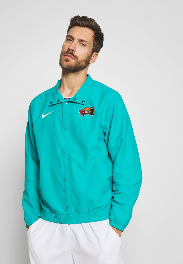 NBA MEMPHIS GRIZZLIES CITY EDITION JACKET - Fanartikel - turbo green/white