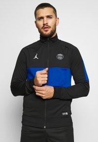 Nike Performance - PARIS ST GERMAIN DRY - Klubbkläder - black/hyper cobalt/white - 0