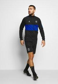 Nike Performance - PARIS ST GERMAIN DRY - Klubbkläder - black/hyper cobalt/white - 1