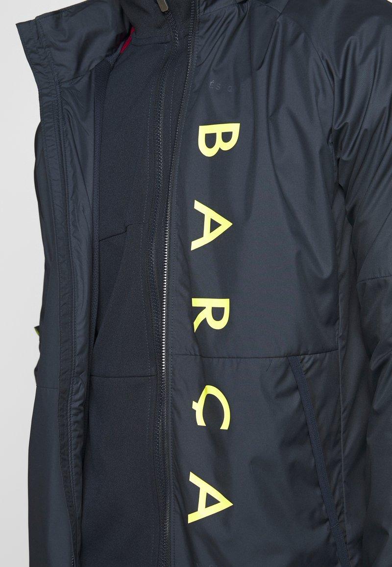Nike Performance FC BARCELONA - Klubbklær - dark obsidian/sonic yellow