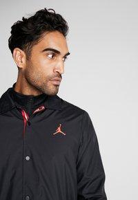 Nike Performance - PSG COACHES - Sportswear - black/infrared - 3