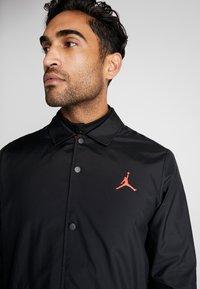 Nike Performance - PSG COACHES - Sportswear - black/infrared - 4