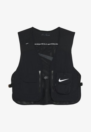VEST - Chaleco - black/white