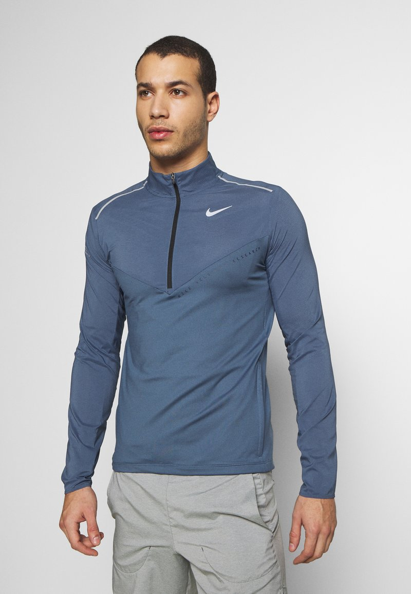 Nike Performance - ELEMENT - Sports shirt - diffused blue/reflective silver