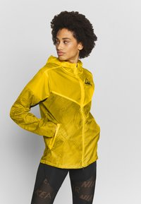 Nike Performance - TRAIL - Veste coupe-vent - speed yellow/black - 3