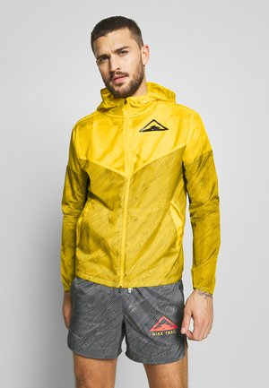 TRAIL - Cortaviento - speed yellow/black