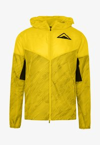 Nike Performance - TRAIL - Veste coupe-vent - speed yellow/black - 6
