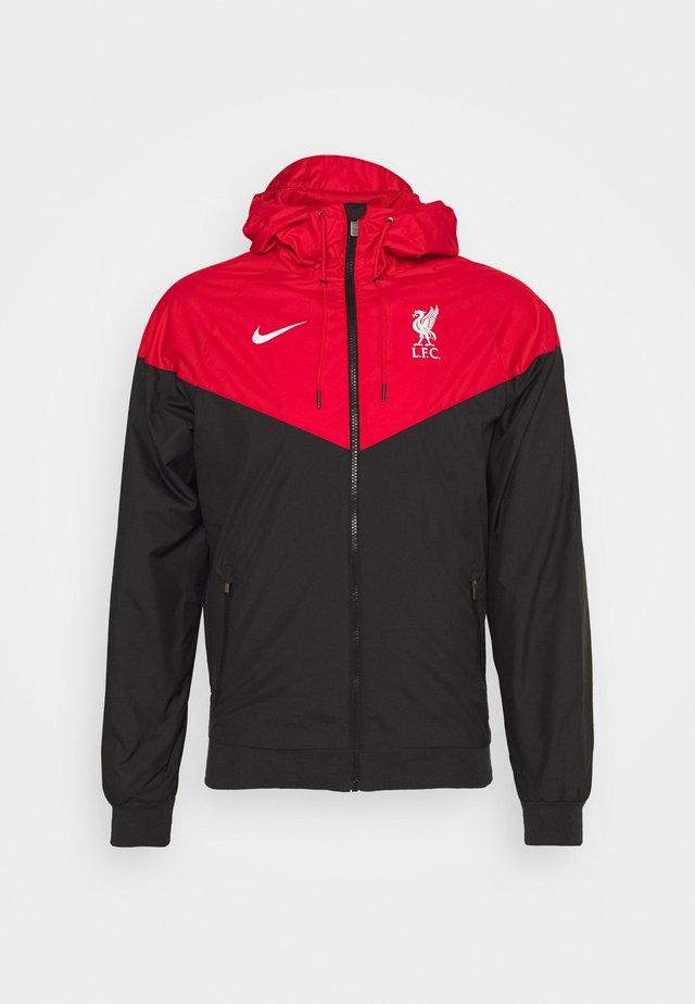 FC LIVERPOOL - Club wear - black/university red/white