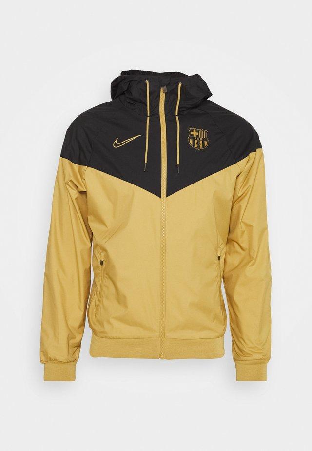 FC BARCELONA - Giacca sportiva - jersey gold/black