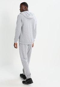 Nike Performance - Zip-up hoodie - dark grey heather/black - 2