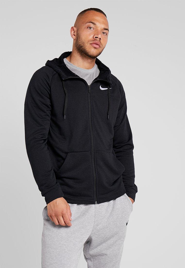 Nike Performance - Sudadera con cremallera - black