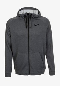 Nike Performance - Bluza rozpinana - anthrazit/black - 0