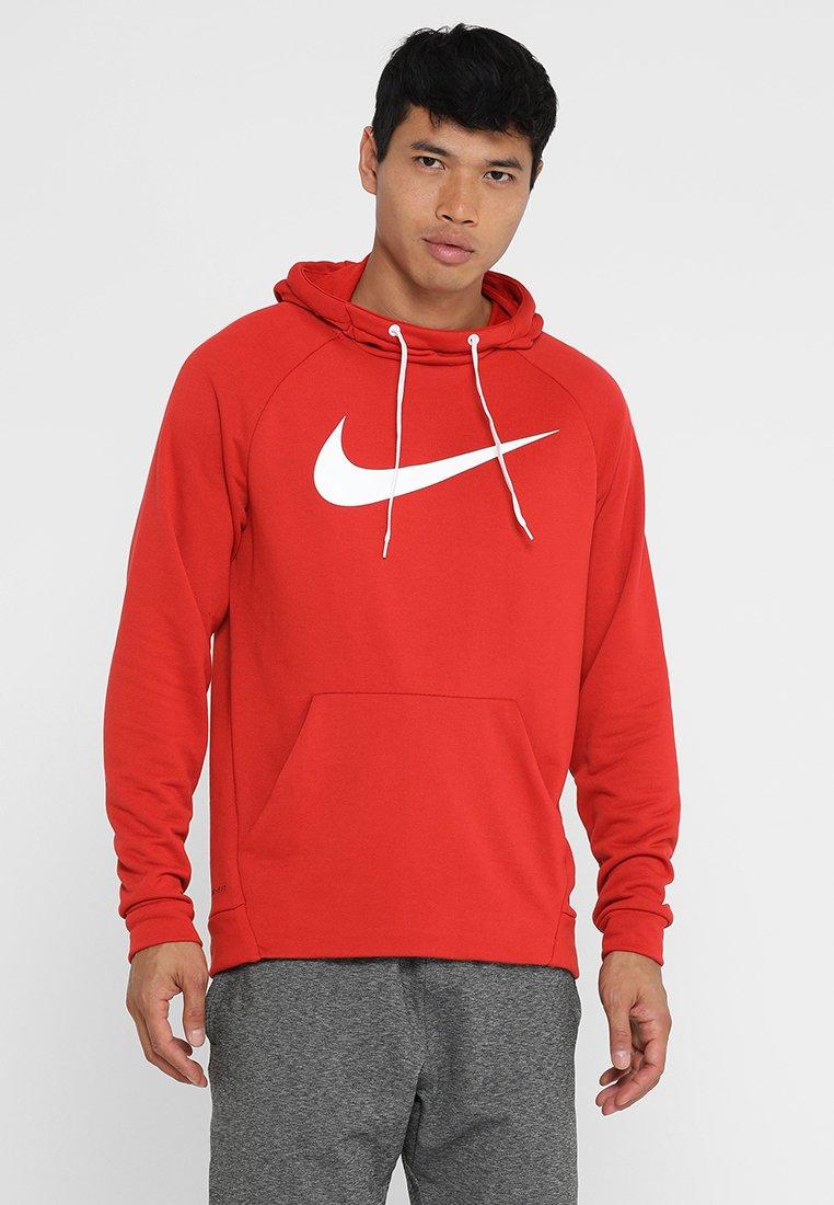 Nike Performance - DRY HOODIE - Sweat à capuche - mystic red/white