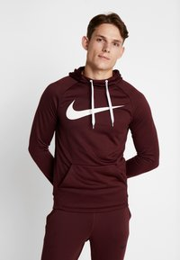 Nike Performance - DRY PO - Jersey con capucha - night maroon/burgundy ash/white - 0