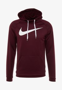 Nike Performance - DRY PO - Jersey con capucha - night maroon/burgundy ash/white - 4