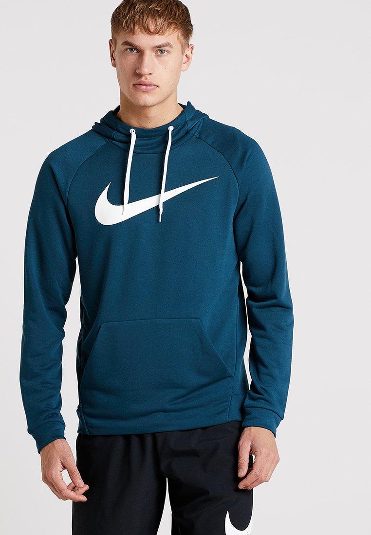 Nike Performance - DRY PO - Hoodie - nightshade/white