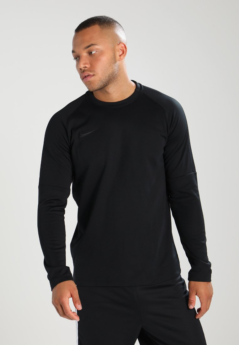 Nike Performance - DRY CREW - Fleecetrøjer - black/black/black