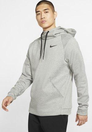 Bluza z kapturem - dark grey heather/black