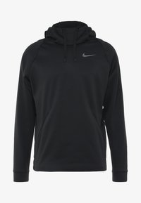 Nike Performance - Kapuzenpullover - black/dark grey - 4