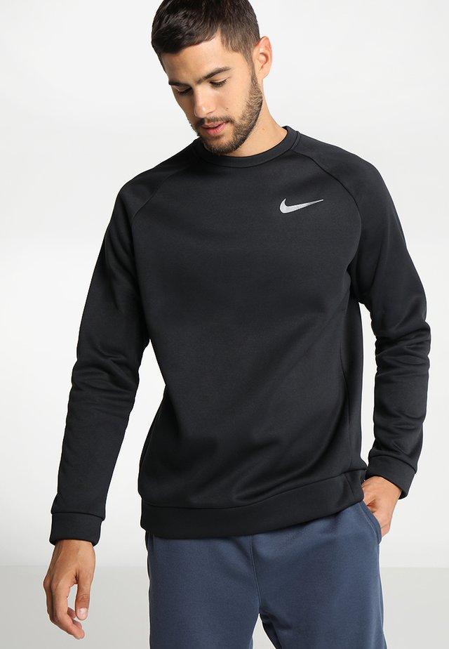 THERMA CREW - Sweater - black