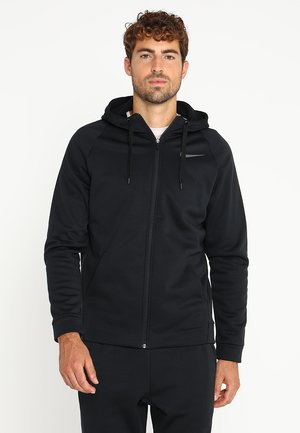THERMA  - Fleece jacket - black/dark grey