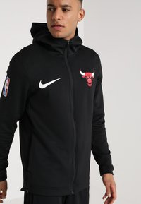 Nike Performance - NBA CHICAGO BULLS THERMAFLEX SHOWTIME HOODY FULL ZIP - Träningsjacka - white /black/anthracite - 0