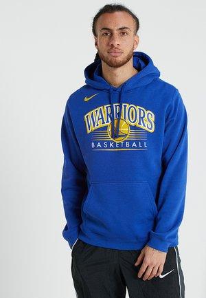 NBA GOLDEN STATE WARRIORS HOODY CREST - Article de supporter - rush blue
