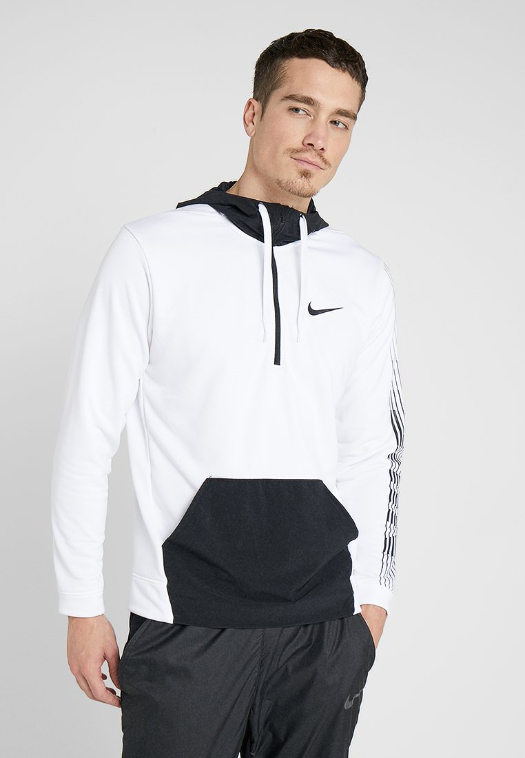 Nike Performance - Hættetrøjer - white/black