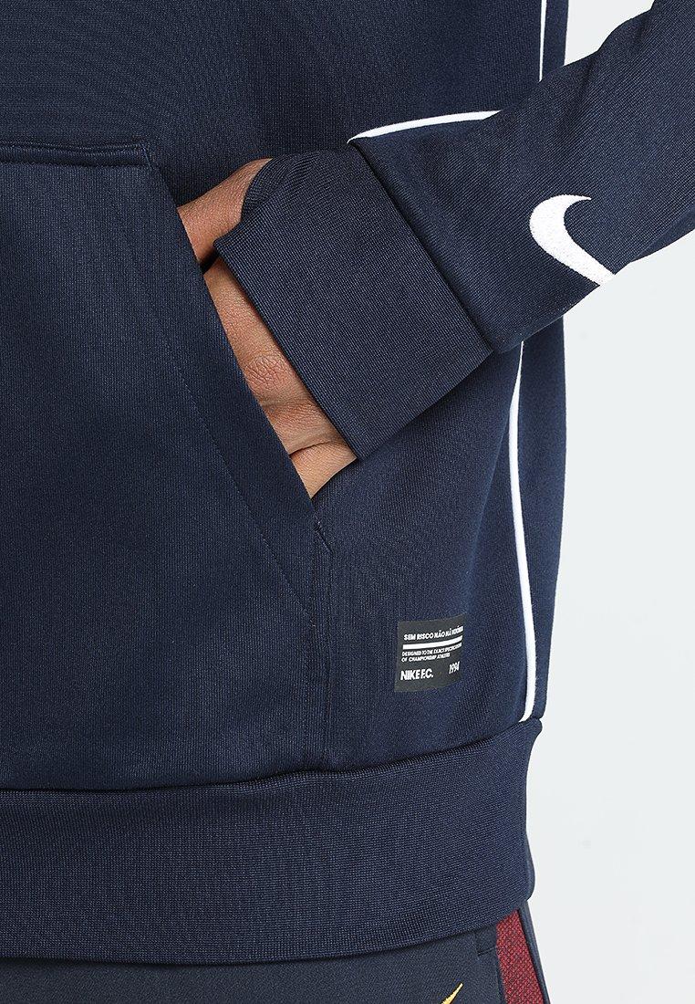 Capuche À Performance HoodieSweat white Fc Nike Obsidian 5Sc34LjqAR