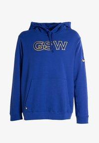 Nike Performance - GOLDEN STATE WARRIORS - Kapuzenpullover - blue - 4