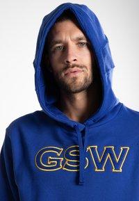 Nike Performance - GOLDEN STATE WARRIORS - Kapuzenpullover - blue - 3