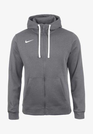 CLUB19 HERREN - Zip-up hoodie - charcoal heather / anthracite white
