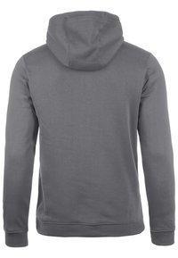 Nike Performance - CLUB19 HERREN - Zip-up hoodie - charcoal heather / anthracite white - 1