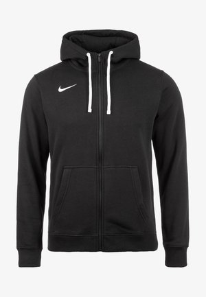 CLUB19 HERREN - Zip-up hoodie - black / white