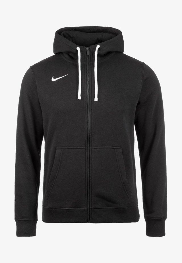 CLUB19 HERREN - Zip-up hoodie - black / white