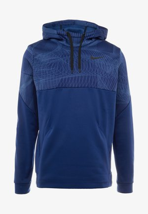THERMA - Jersey con capucha - blue void/black